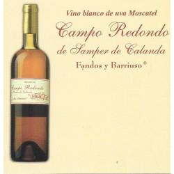 Vino Blanco Moscatel Fandos Y Barriuso 6 Botellas