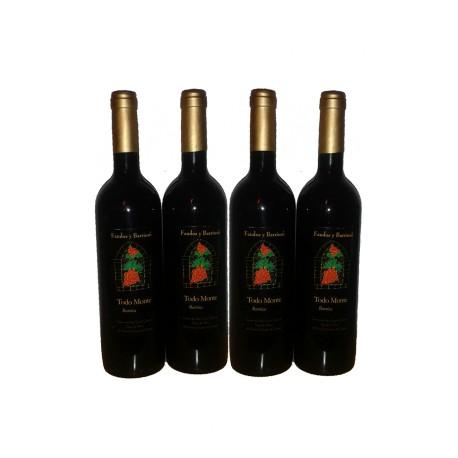 Pack 4 Botellas de Tinto Todo Monte