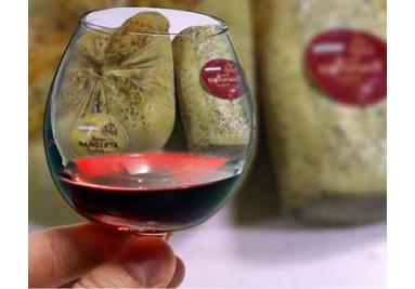 Queso y vino de Samper de Calanda